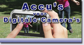 Accu's voor Digitale Camera's